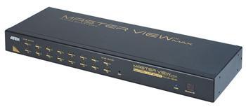 """CS-1216A ATEN 16-port KVM PS/2+USB, OSD, rack 19"""""""