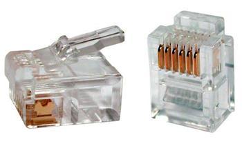 trj12 Konektor RJ12 6/6 pinů