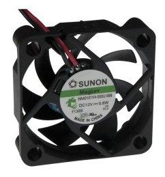 zvz-04 Ventilátor SUNON 40x40x10, 12 V/65 mA