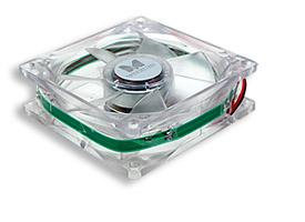 zvz-08GR Ventilátor do zdroje 80x80x25 zelená