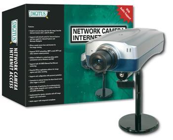 DN-16004 DIGITUS Internet cam. JPEG,RJ45,3-30fps,640x480