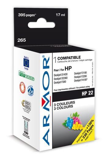 K20233 ARMOR ink-jet pro HP DJ 3940 3 barvy komp. C9352AE, k.č. 265