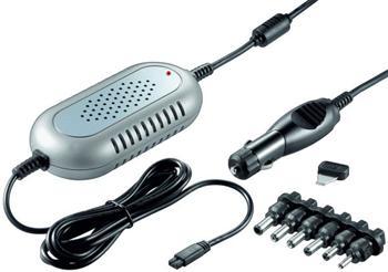 ppadapter-18 goobay Napájecí zdroj 120W pro notebook do auta 15-20V 6A, 22-24V 5A