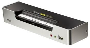 CS-1794 ATEN 4-port KVMP USB HDMI, usb hub, audio