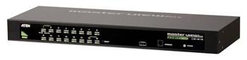 """CS-1316A ATEN 16-port KVM PS/2+USB, OSD, rack 19"""", kombo konzole"""