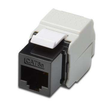 DN-93602 DIGITUS CAT6A De Embedded Keystone Jack, nestíněný, nevyžaduje nástroj pro narážení