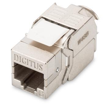 DN-93612 DIGITUS CAT6 Keystone Jack, stíněný, nevyžaduje nástroj pro narážení