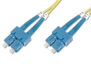 DK-2922-10 DIGITUS Fiber Optic Patch Cord, SC to SC Singlemode 09/125 µ, Duplex Length 10m