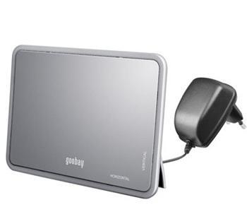 DVB-T07 goobay DVB-T aktivní anténa s napaječem pro VHF/UHF/FM 21dB