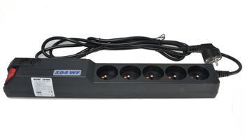 Acar 504WF Ochranný filtr 230V,vyp, 3m, 5zásuvek