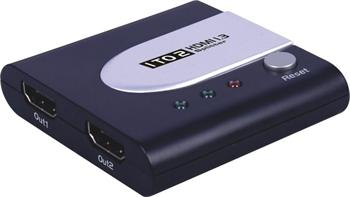 PremiumCord HDMI splitter 1-2 Port mini