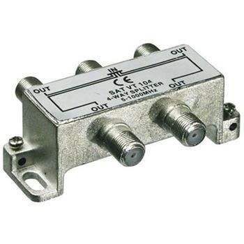 ktf14 PremiumCord antenní rozbočovač na F konektory  1-4 výstupy  5-1000 MHz