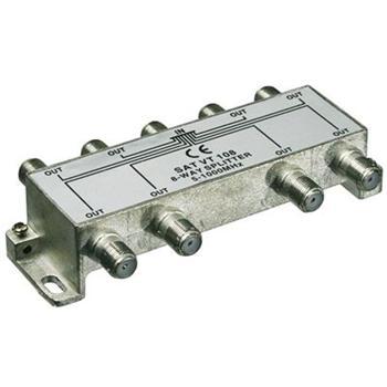 ktf18 PremiumCord antenní rozbočovač na F konektory  1-8 výstupy  5-1000 MHz
