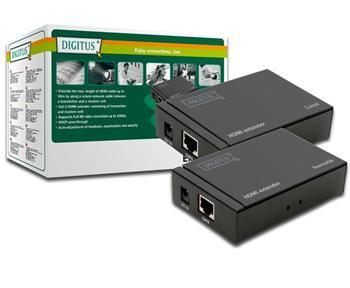 DS-55100 DIGITUS  HDMI extender na 50m přes 1xCat5e