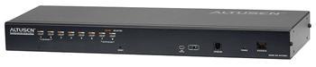 KH-1508AI ATEN 8-port OverNet Cat5 KVM PS/2+USB, OSD, rack, SUN, PON, VNC