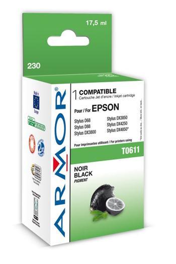 K12202 ARMOR alternativa T061140 - Epson Stylus D88/DX3800 černá, k.č. 230