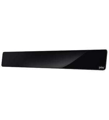 DVB-T10 goobay DVB-T aktivní Full HD vnitřní anténa se zdrojem pro pásmo VHF/UHF, zisk 35 dB/30 dB, černá