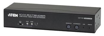 CE-774 ATEN Extender PC-konzole, Dual View, USB až 150m, až 1920x1200 bodů