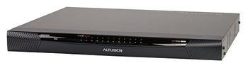 "KN-2116V ATEN 16-port Cat5 KVM PS/2+USB, OSD, rack 19""  1 local / 2 remote už."