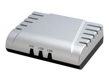 DN-13003-V DIGITUS Ethernet print server, 1x USB 1.1 port, 1x LAN port