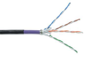 DK-1741-VH-10-OD_050 DIGITUS Professional CAT 7 S-FTP černý venkovní odolný kabel 50m