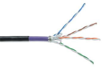 DK-1741-VH-10-OD_020 DIGITUS Professional CAT 7 S-FTP černý venkovní odolný kabel 20m