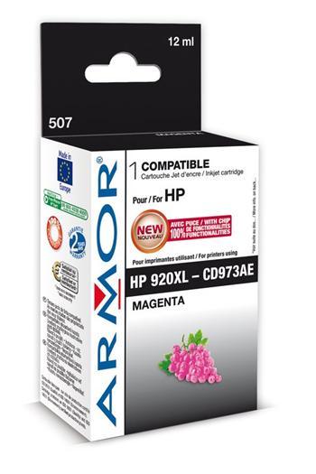 K20451 ARMOR ink-jet pro HP,  No. 920XL, magenta, 12ml, CD973AE