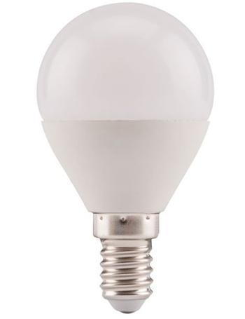 ledz-66 Extol LED žárovka mini, 5W, 410lm, E14, 2800K, teplá bílá