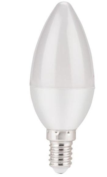 ledz-68 Extol LED žárovka svíčka, 5W, 450lm, E14, 2800K, denní bílá