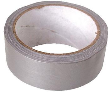 zvpep13 Extol Craft Lepící páska textilní 50mm x 10m, stříbrná