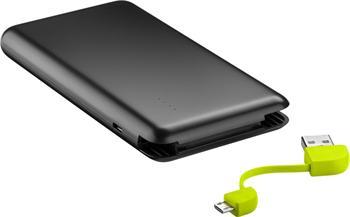 pbank-01 goobay slim USB powerbank s integrovanou Li-Pol baterií 4000mAh, 2A