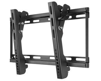 """LCD-19 goobay TV EasyFlex Slim  LCD držák na zeď pro TV do 140 cm (55"""") černá barva"""