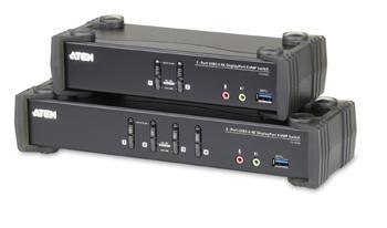 CS-1922 ATEN 2-port 4K DisplayPort KVMP USB3.0, audio
