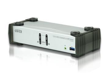 CS-1912 ATEN 2-port DisplayPort KVMP USB3.0, audio