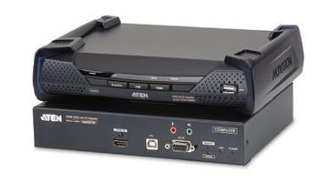 KE-8950 ATEN Zařízení pro ovládání 4K HDMI KVM, OverNet, rack, USB, audio, RS-232, SFP