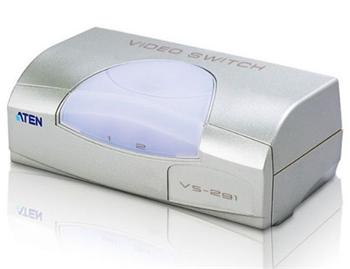 VS-291 ATEN Elektronický VGA přepínač 2:1 - stolní