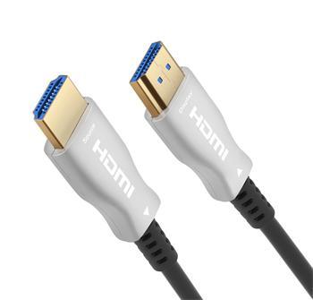 PremiumCord optický fiber High Speed with Ether. 4K@60Hz kabel 30m, M/M, zlacené konektory