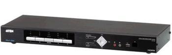 CM-1284 ATEN 4-port 4K HDMI KVMP USB přepínač, usb hub, audio, PIP, RS232, DO