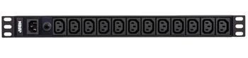 PE-0112G ATEN Základní napájecí jednotka 12x IEC320 C13, 1x IEC320 C14 vstup, 1U, 10A